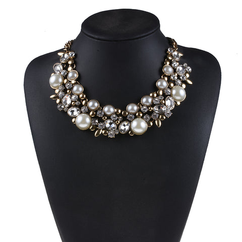 Pearl Statement Choker