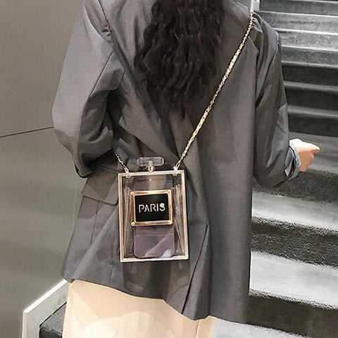 Clutch Transparent Shoulder Handbag
