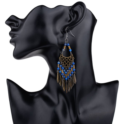 MYTHIC AGE - Long Tassel Earrings