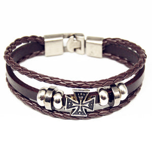 Multilayer Charm Wrap Bracelet