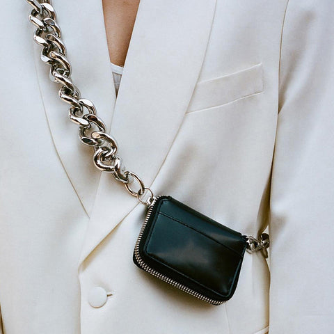 Large Metal Chain Minibag