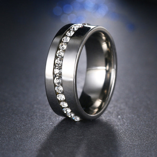 Slash Stainless Steel Ring