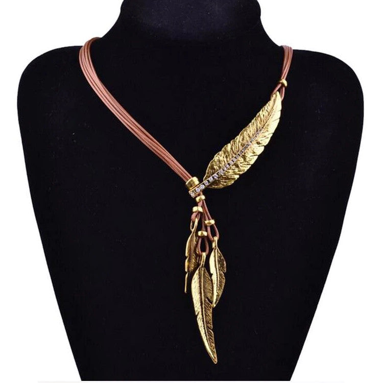 Vintage Necklaces & Pendants Rope Leather