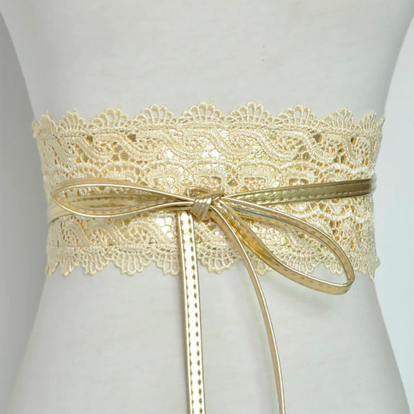 Corset Lace Belt Female