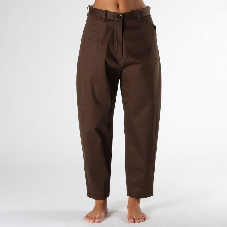 Trousers for woman NINE IN THE MORNING INTESE MORO