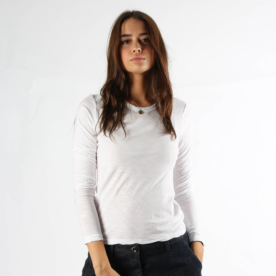 T-shirt for women JAMES PERSE WUA3361 WHT