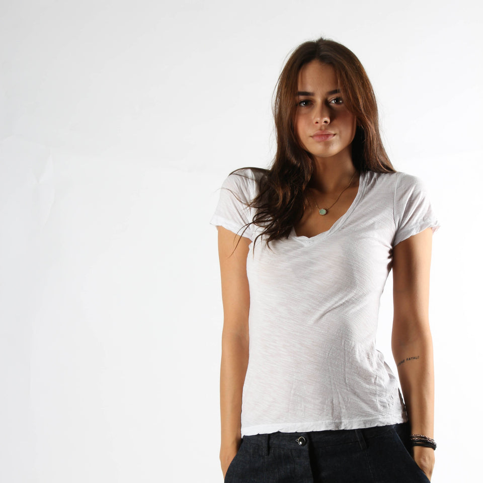 T-shirt for women JAMES PERSE WUA3695 WHT