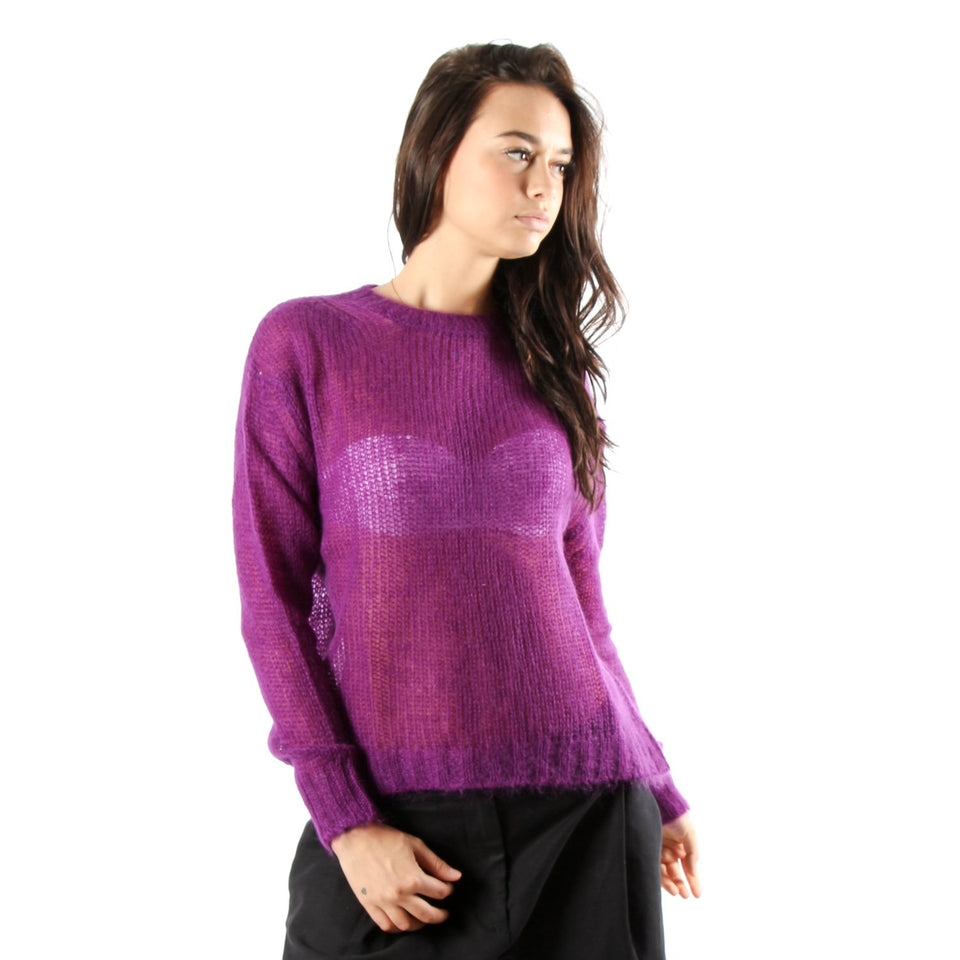 Sweater for women FORTE FORTE 5914 CICLAMINO