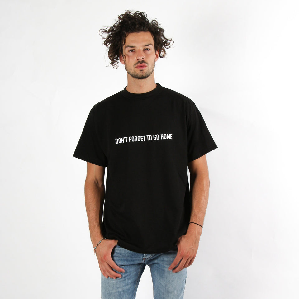 T-shirt unisex PRAY FOR US GO HOME BLK
