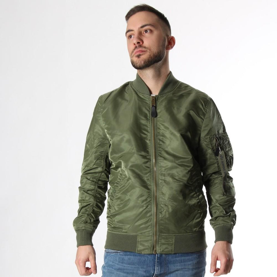 Bomber for men ALPHA INDUSTRIES 178125 01