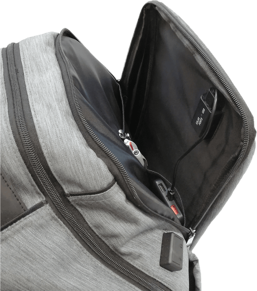 smart backpack pocket