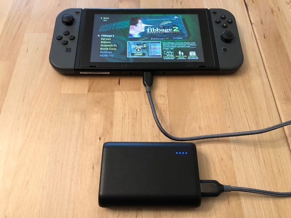 external battery 20000 mah for nintendo switch