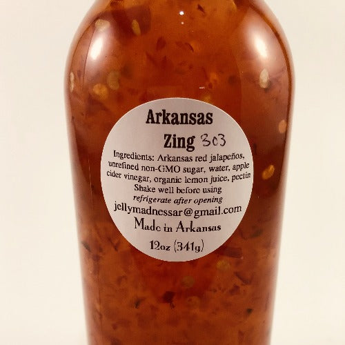 Arkansas Zing Syrup, 12oz