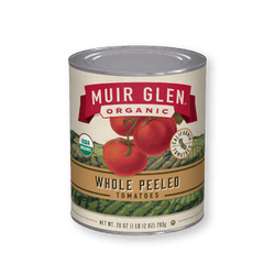 Organic Whole Peeled Tomatoes, 28oz