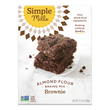Almond Flour Brownie Mix, 12.9oz