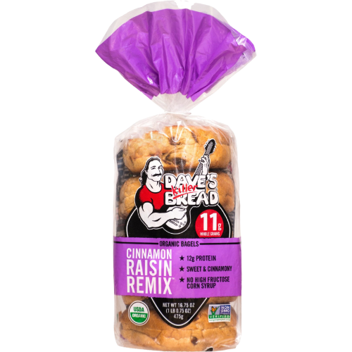 Cinnamon Raisin Remix Bagels
