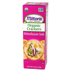 Organic Crackers with Himalayan Salt