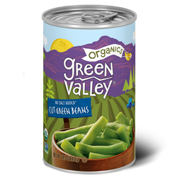 Organic Cut Green Beans, 14.5oz