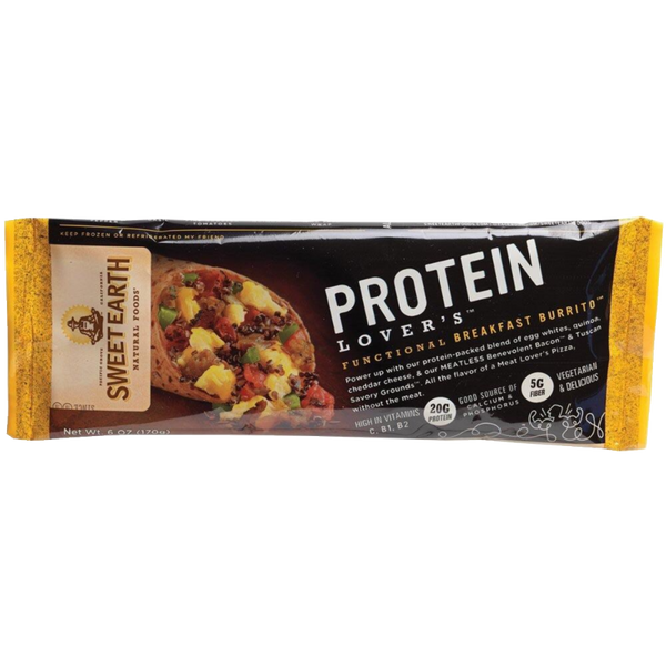 Protein Lover's Functional Meatless Burrito