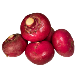 Scarlet Queen Turnips, 1lb