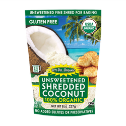 Organic Shredded Coconut, 8.8oz
