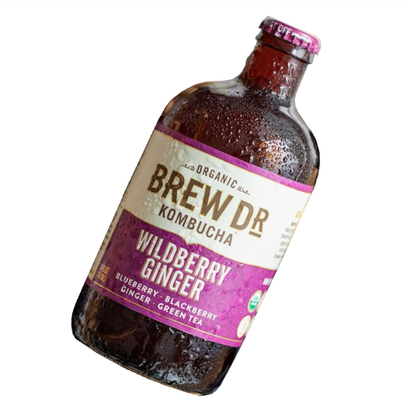 Wildberry Ginger Kombucha, 14oz