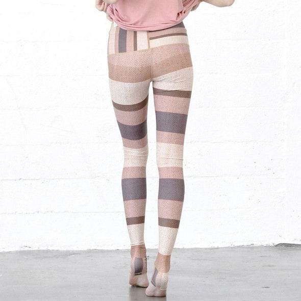 Legging Rayures Multicolore