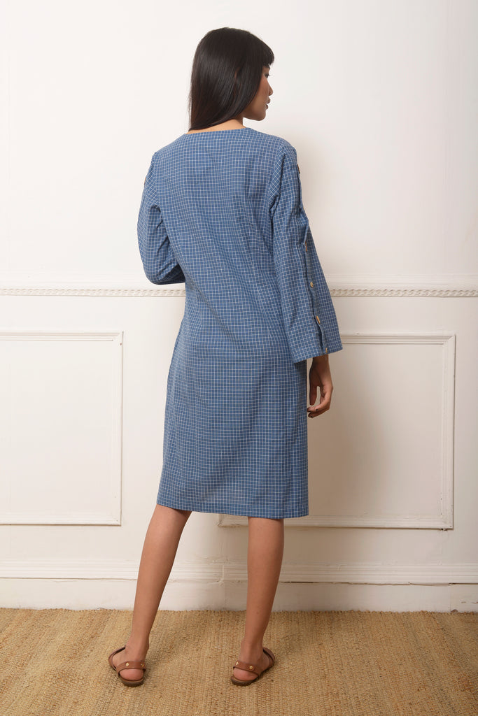 Check Tunic Dress