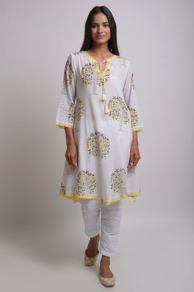 Lemon Trees Tunic