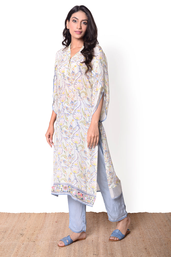 Paisley Mint Kurta Set