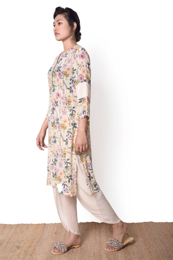Lemon Rehmat Kurta Set