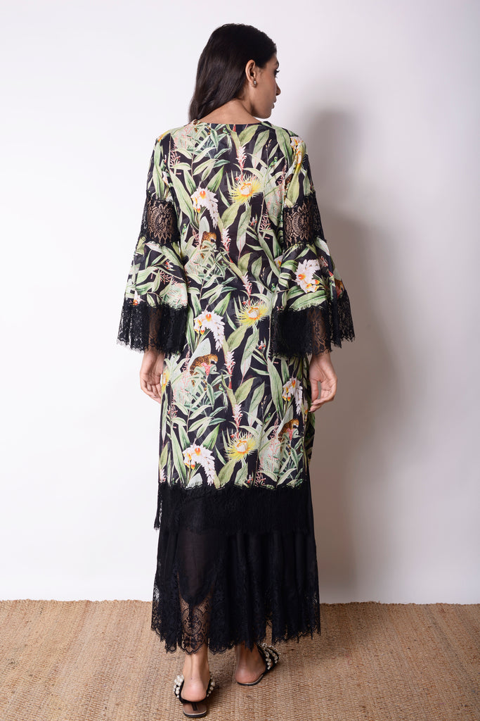Tropic Leopards Kurta