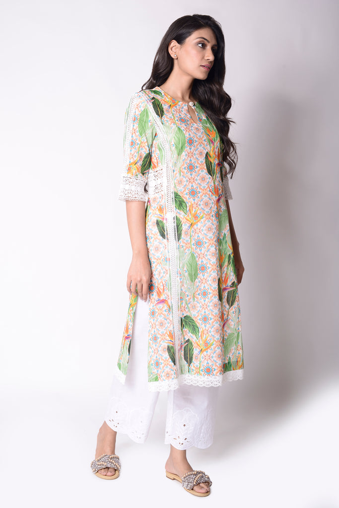Birds of Paradise Kurta
