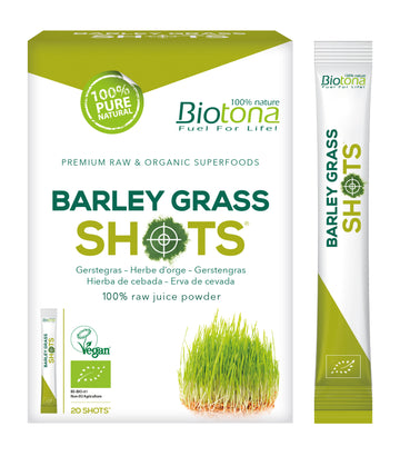 Barley Grass Raw Shots