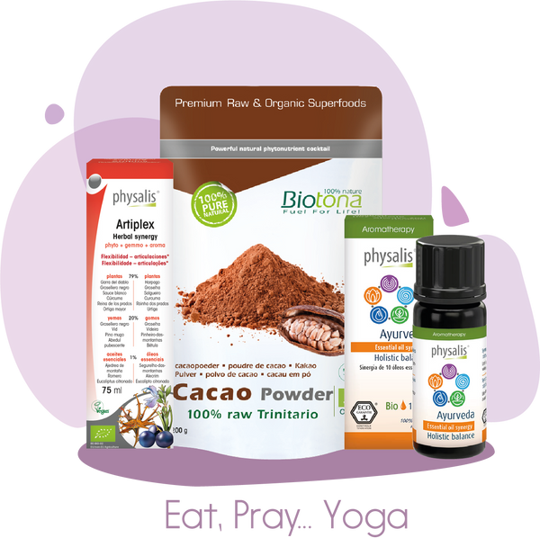 EAT, PRAY… YOGA kit