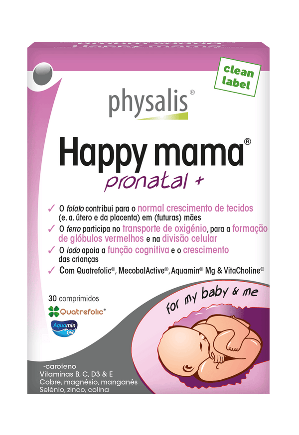 Happy Mama Pronatal+ 30 Comprimidos