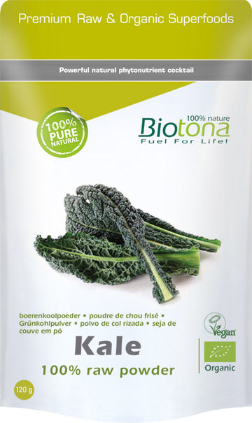 Kale 100 % raw powder (Couve-Frisada) 120 g