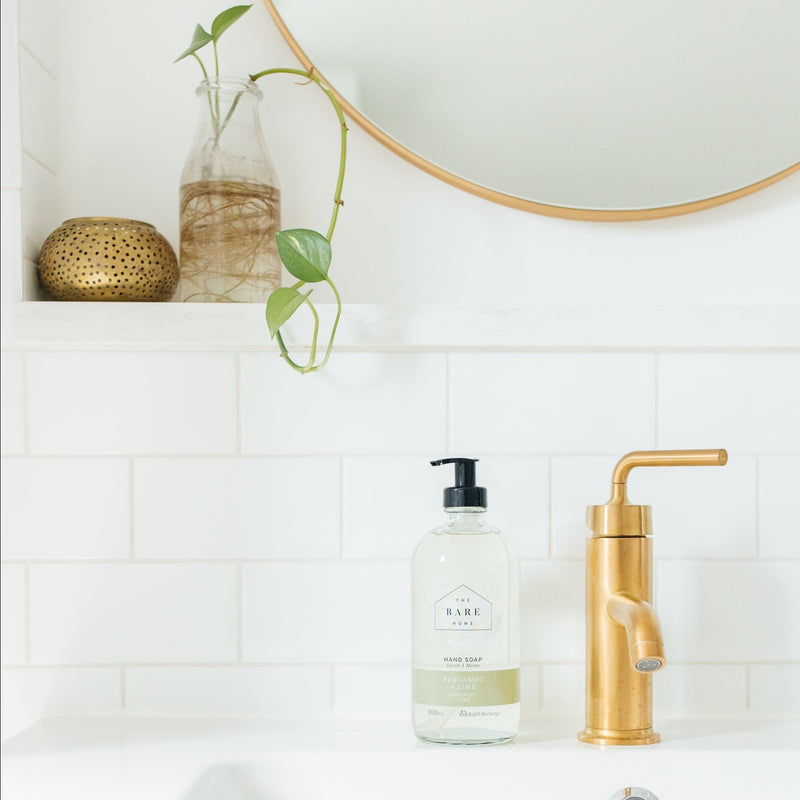 BERGAMOT + LIME HAND SOAP 500ml
