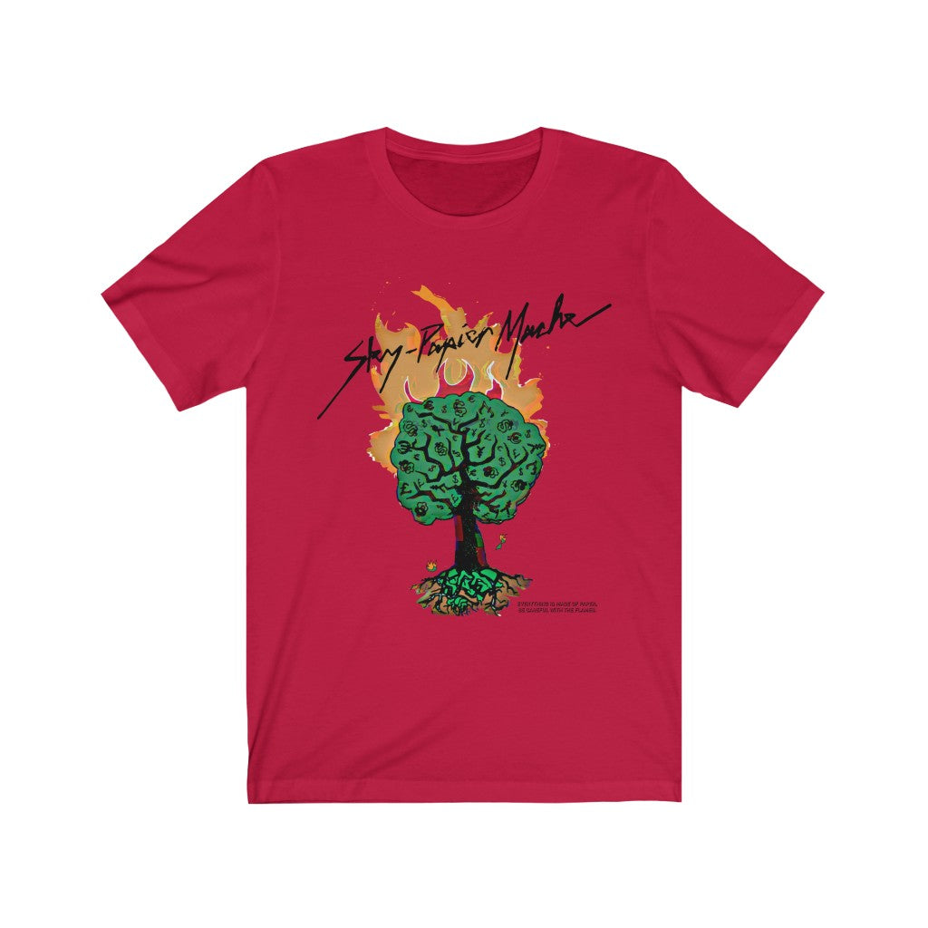Money Tree. Fitted Tee.