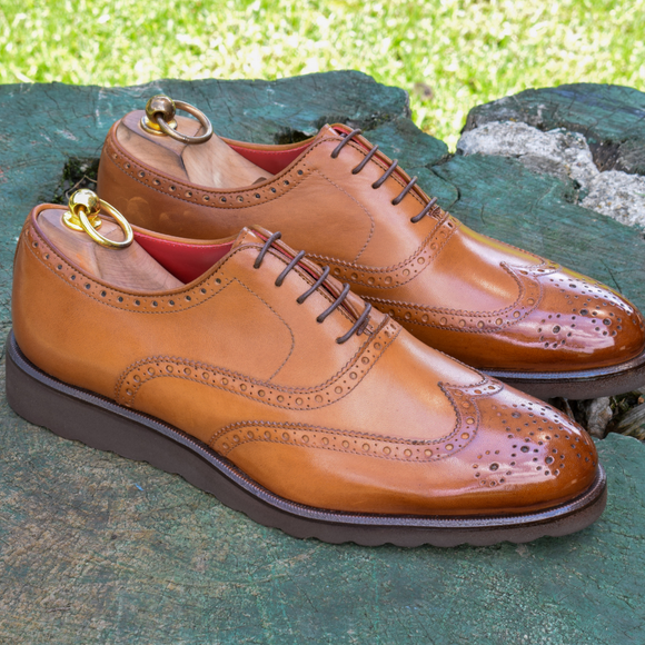 MTO FULL BROGUE WEDGE SOLE