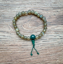 Load image into Gallery viewer, Labradorite Mala Bracelet