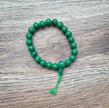 Load image into Gallery viewer, Malachite Mala Bracelet