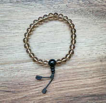 Load image into Gallery viewer, Smokey Quartz Mala Bracelet