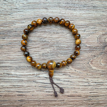 Load image into Gallery viewer, Tiger's Eye Mala Bracelet