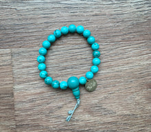 Load image into Gallery viewer, Turquoise Mala Bracelet