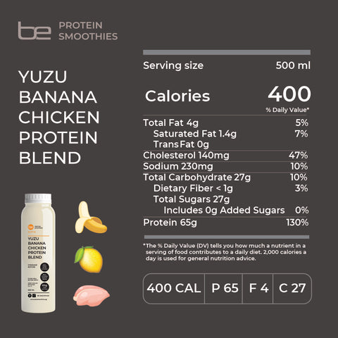 Yuzu Banana 500ml NIP