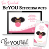 Free Downloadable Classic BeYOU Screensaver (PINK)