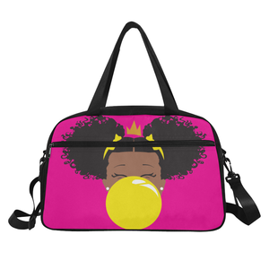 BeYOU Overnight Bag: Classic Yellow Bubble
