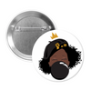 Signature Black Girl Magic Button Set (3 Pinback Buttons)