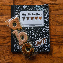 Load image into Gallery viewer, Dear Beautiful Brown Girl: My Life Matters (8x10 Composition Book)
